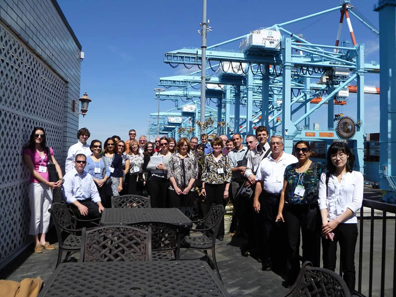 FA2012 Attendees at port